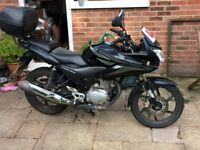 Black Honda CBF125 for sale, back box and centre stand included.