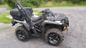2014 can am 800 Outlander . Perfect condition
