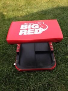 Big red seat dolly