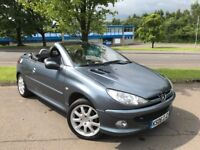 Peugeot 206 1.6 ALLURE COUPE CABRIOLET (grey) 2006