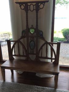 antique bench - banc antique