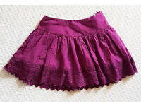JACK WILLS Purple Skirt size 8 *new unworn*