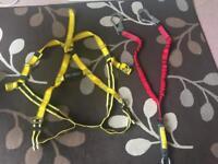 Brand new scaffolding harness