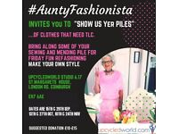 #AuntyFashionista invites you to 'Show us Yer Piles!'