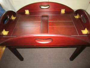 Butler Table from the Bombay Co.