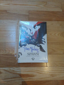 Spawn Origins Collection Hardcover SIGNED by Todd McFarlane