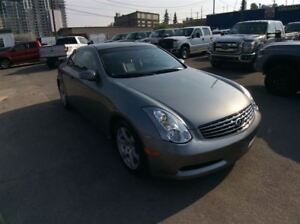 2007 Infiniti G35 / COUPE / AUTO/ SUNROOF / SUPER CLEAN / LOW KM