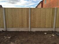 🌲Straight Top Vertical Board Fence Panels