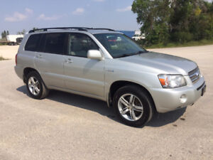 2007 Toyota Highlander Limited SUV, Crossover