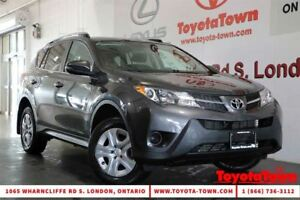 2015 Toyota RAV4 SINGLE OWNER LE HEATED SEATS & BACKUP CAMERA