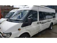 16 seater minibus for private hire with driver in gloucester