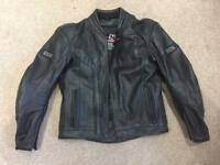 IXS DISCOVERY LEATHER MOTORBIKE JACKET