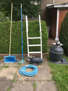 Pool Filter,Pump and misc accesories
