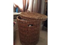 Laundry Accessory Large Whicker Basket