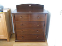 Boori Country Collection chest of drawers in English Oak