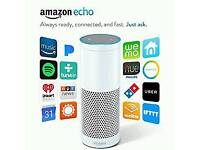 Amazon Echo Speaker - White - Brand New & Sealed