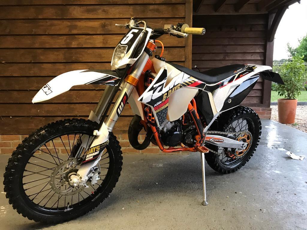 ktm exc 125 6 days low hours road legal | in ringwood, hampshire