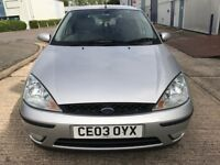 FORD FOCUS ZETEC 1.6 PETROL P/X TO CLEAR .WITH SERVICE HISTORY
