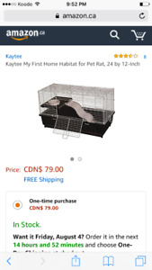 Brand new Syrian hampster/ rat cage