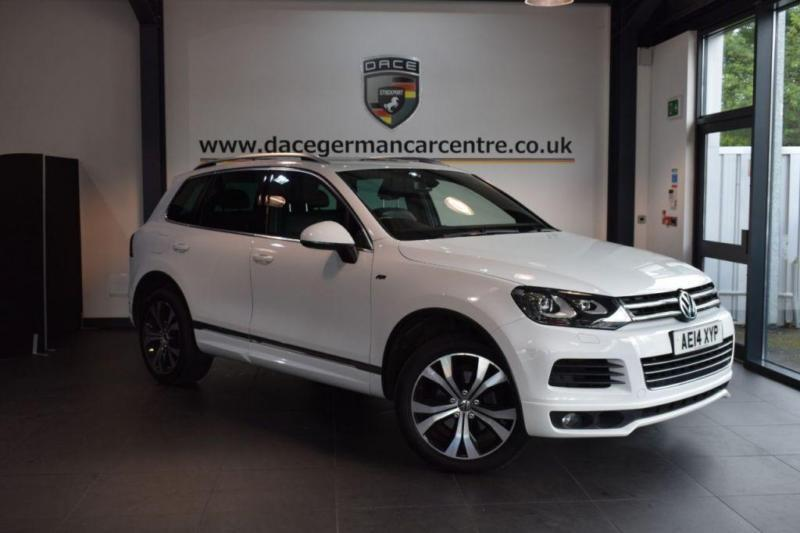 2014 14 VOLKSWAGEN TOUAREG 3.0 V6 R-LINE TDI BLUEMOTION TECHNOLOGY 5DR AUTO 242