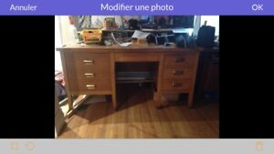 Bureau antique professeur