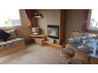 Bargain static caravan . Sleeps 6. Near dumfries, sandylands, craig tara, sundrum, glasgow,carlisle