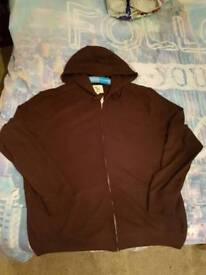 Dark red hoody