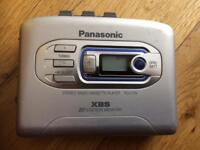 Vintage Panasonic cassette player xbs