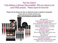 FREE ONLINE Makeup/Skincare Classes