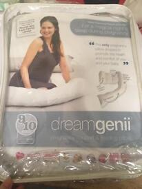 Dreamgenii Pregnancy Support Pillow and spare cover