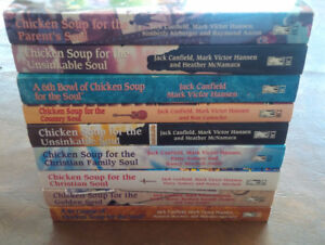 8 Chicken Soup for the Soul Books: See Titles in Listing