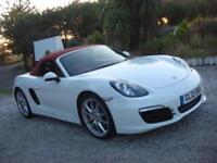 2012 12 PLATE Porsche Boxster S 3.4 ( 315bhp ) PDK in White