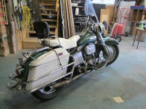 1969 Harley-Davidson FL Police Special