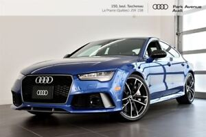 2016 Audi RS 7 4.0 TFSI PERFORMANCE ! NOUVEL ARRIVAGE !