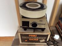 Vintage Prinz Concord 800 High Density Dual Magazine 35 mm colour slide Projector