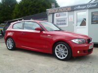 2007 BMW 118 D M TEC SPORT-£115 TAX BAND-6 MONTHS WARRANTY AVAILABLE