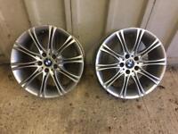"""BMW 19"""" Rear Alloys"""