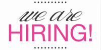 We are hiring!!