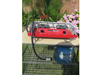 TILLEY 2 RING CAMPING COOKER, FISHING ETC WITH GAS BOTTLE
