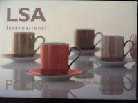 LSA Polka Coffee Cups