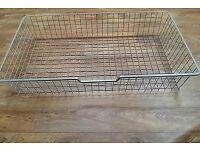 IKEA komplement large wire basket PAX WARDROBE / UNDER BED STORAGE