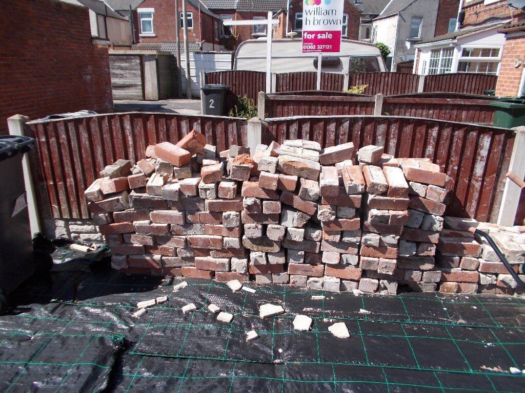 Bricks, some slabs,coping stones and hardcore. Used need clearingin Bentley, South YorkshireGumtree - Bricks from knocking down a coupl of garden walls. Free to collect. Contact 07787714125