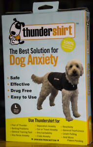 Thunder Shirt for Dogs--- size large in grey