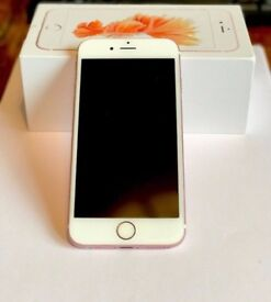 Iphon 6s 16gb rosegold unlocked /perfect condition