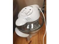 Cookshop Halogen oven cooker with accessories and cookery book