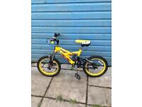 Raleigh Kool X FS -Ages 4-6