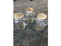 Mason jars x 10