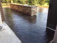 Residential and commercial concrete work, competitive pricing