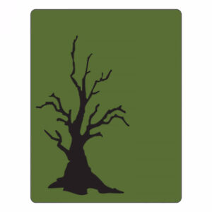 Sizzix A2 Texture Fades Embossing Folder - Branch Tree - $8