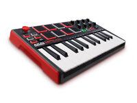 AKAI Professional MPK Mini MKII 25-Key Portable USB MIDI Keyboard